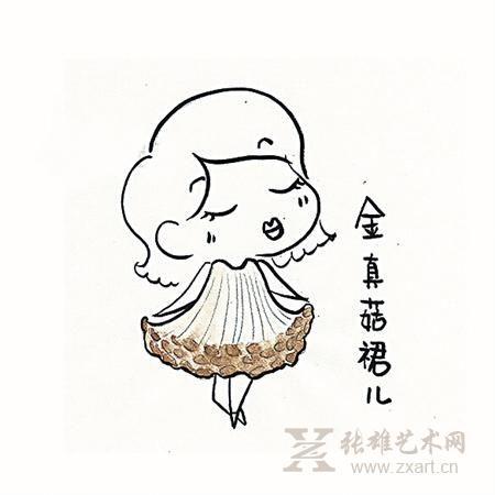 卡通鱼简笔画